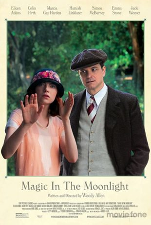 Nuevo póster muy de época de 'Magic in the Moonlight'