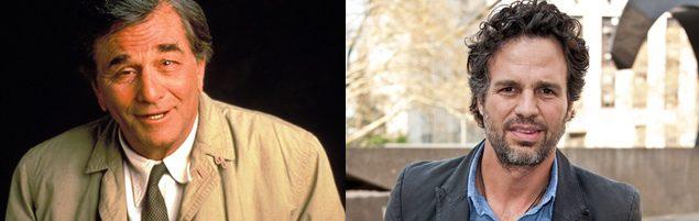 Peter Falk y Mark Ruffalo