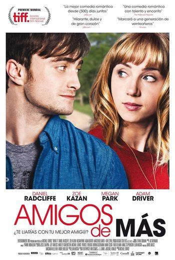 Daniel Radcliffe y Zoe Kazan confunden sentimientos en el tráiler español de 'Amigos de más'