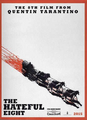 Filtrado el póster de 'The Hateful Eight', lo último de Quentin Tarantino