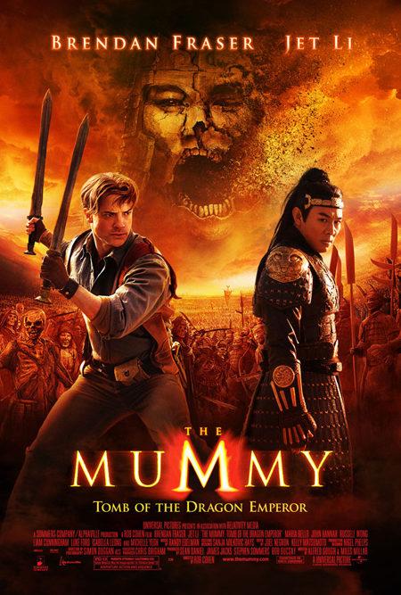 Nuevo póster de 'La momia: la tumba del Emperador Dragón'