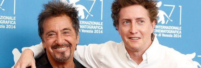 Al Pacino y David Gordon Green en la Mostra de Venecia