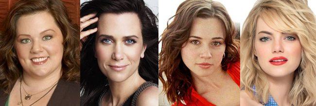Melissa McCarthy, Kristen Wiig, Linda Cardellini y Emma Stone