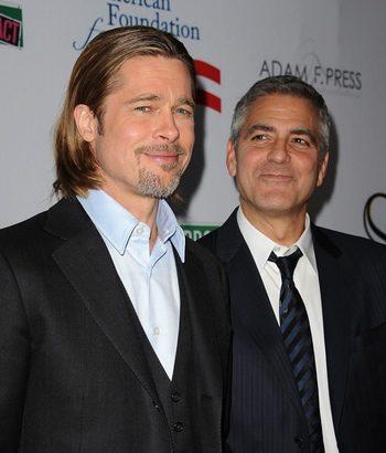 George Clooney - Brad Pitt