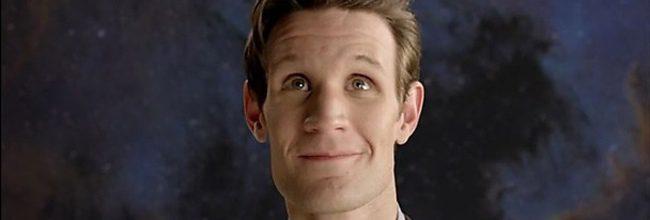 Matt Smith como el Dr. Who