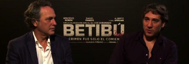 Entrevista con José Coronado y Alberto Ammann en Betibú