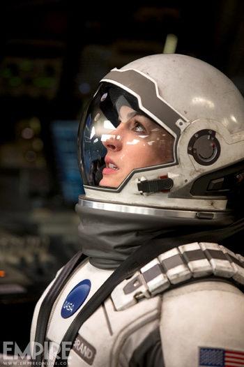 Anne Hathaway en Interstellar