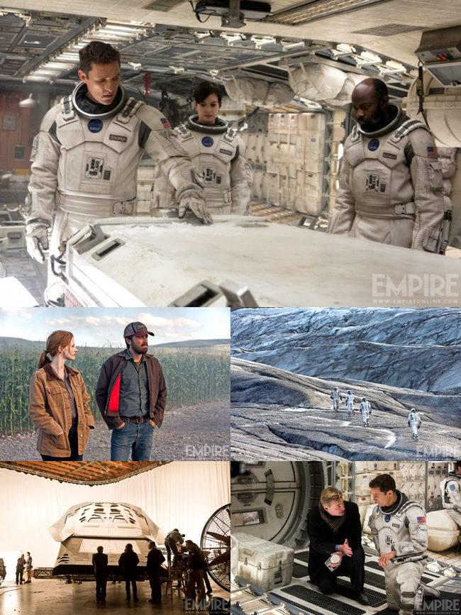 Nuevas imágenes de Interstellar