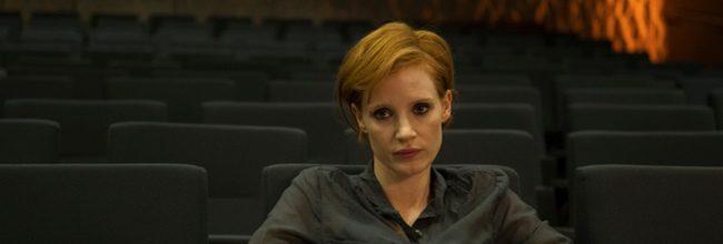 Jessica Chastain en La desaparición de Eleanor Rigby