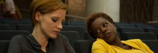 Jessica Chastain y Viola Davis en 'La desaparición de Eleanor Rigby'