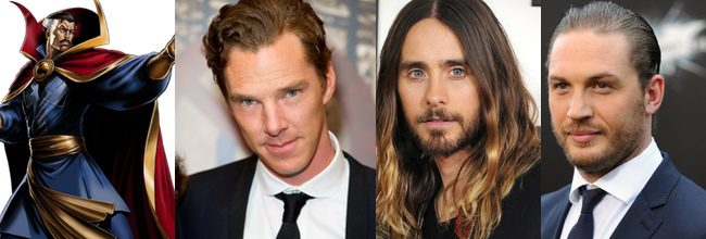 Doctor Extraño, Benedict Cumberbatch, Jared Leto y Tom Hardy