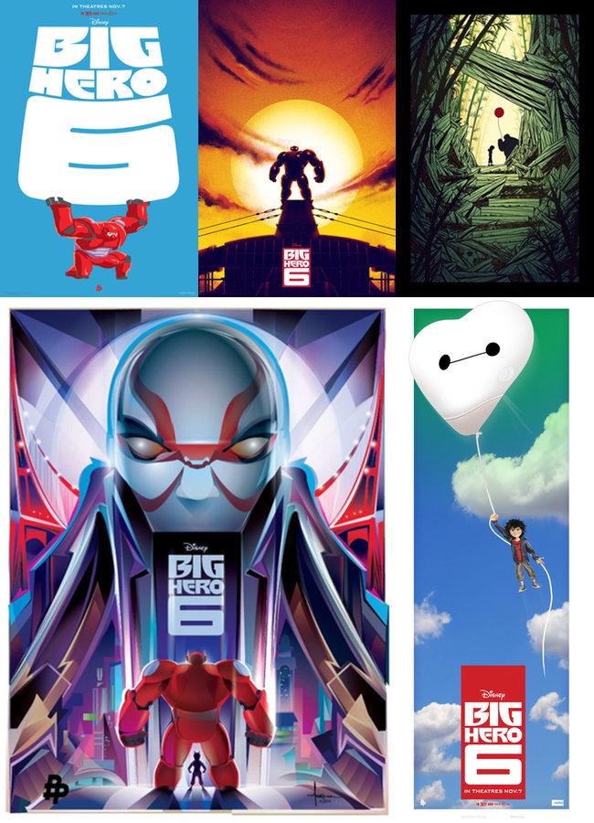 Posters Big Hero 6