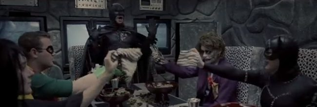 'Batman' y 'Beetlejuice'