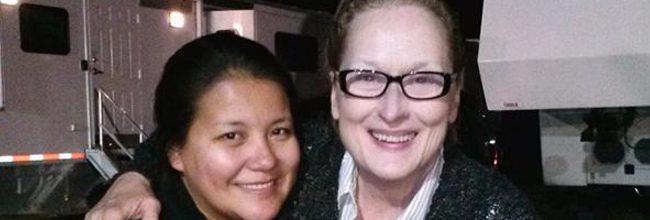 Misty Upham y Meryl Streep