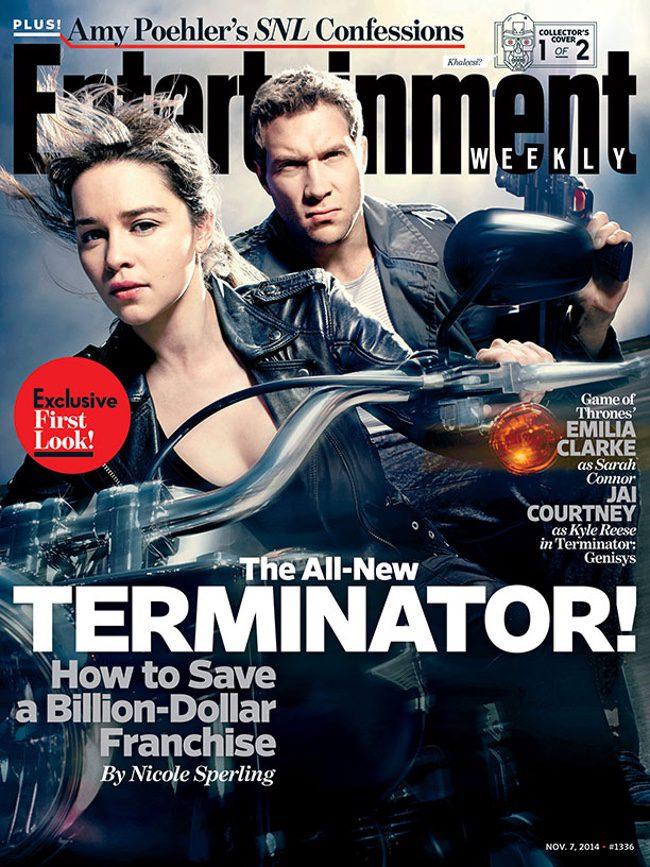 Emilia Clarke y Jai Courtney en las primeras imágenes de 'Terminator: Genisys'