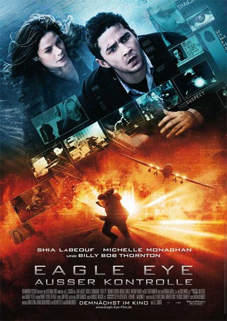 Cartel internacional de 'Eagle eye'