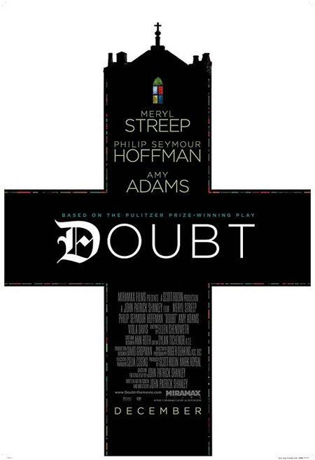 Primer póster de 'Doubt'