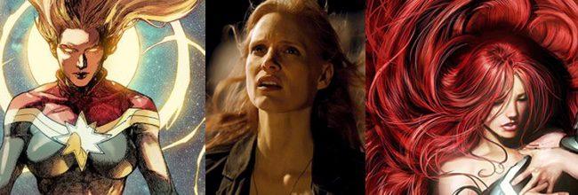 Capitán Marvel, Jessica Chastain y Medusa