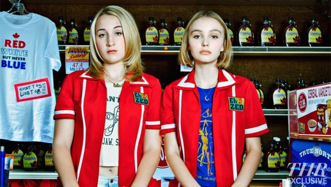 Harley Quinn Smith y Lily-Rose Depp protagonizan la primera imagen de 'Yoga Hosers'