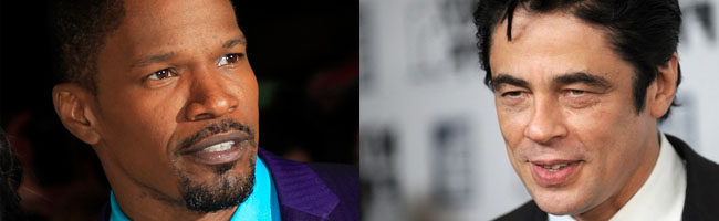 Jamie Foxx y Benicio del Toro se unen a 'The Trap'