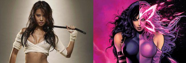 Jamie Chung y Psylocke