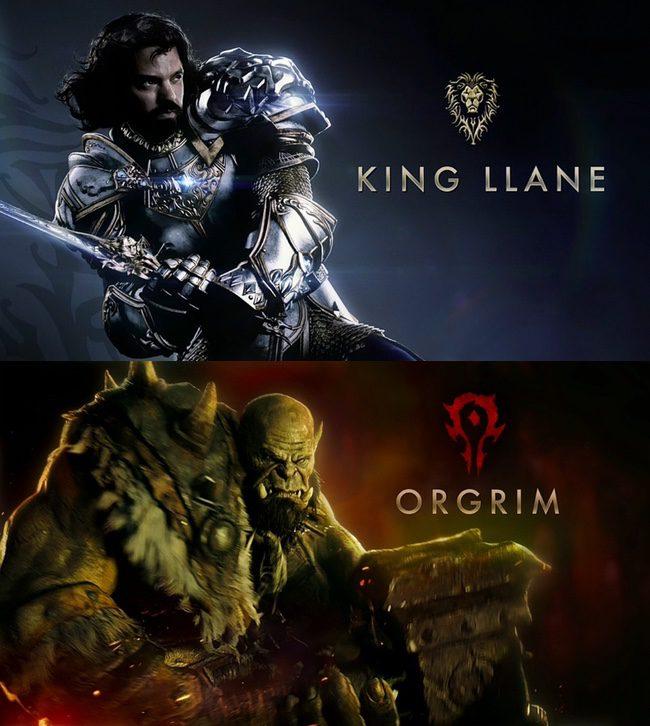 Imágenes promocionales del reparto de 'Warcraft'