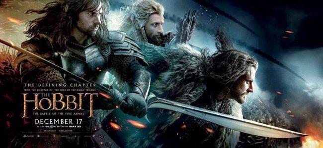 Los enanos protagonizan este nuevo póster de 'El Hobbit: La batalla de los cinco ejércitos'