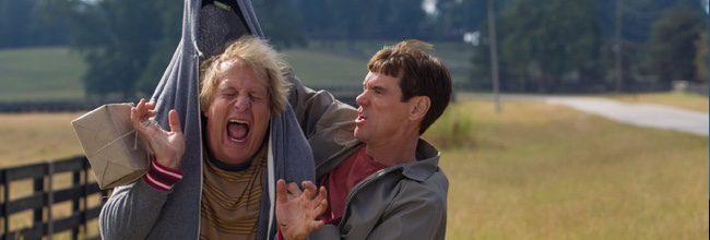 Jeff Daniels y Jim Carrey protagonizan 'Dos tontos todavía más tontos'