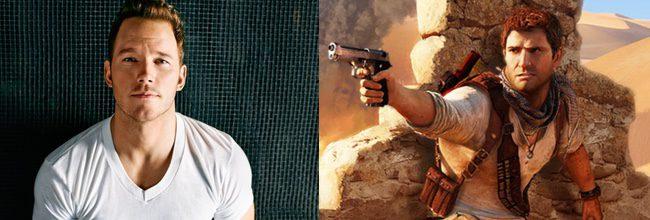 Chris Pratt y Nathan Drake