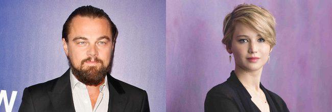 Leonardo Dicarpio y Jennifer Lawrence