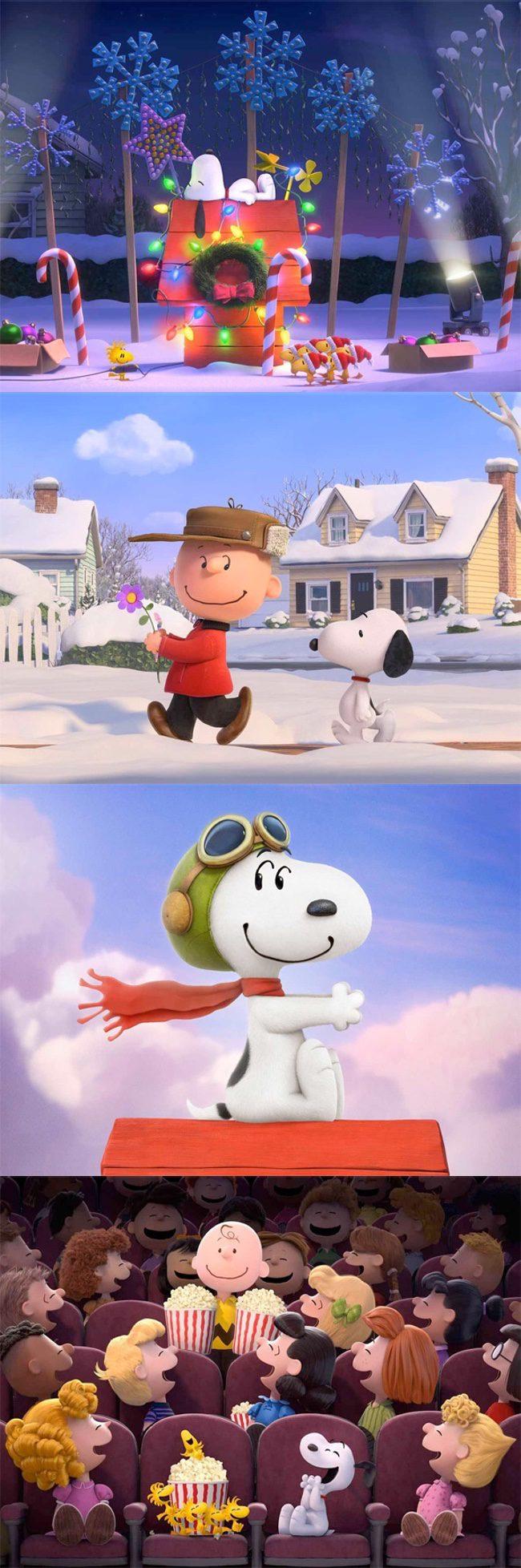 La película de Snoopy llegará en 2015
