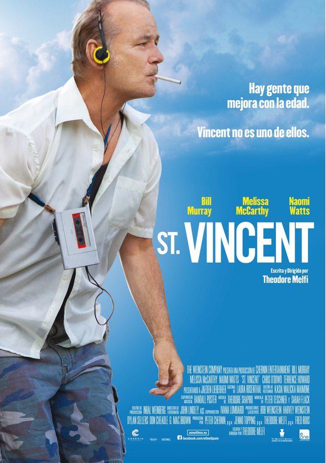 Póster español de 'St. Vincent'