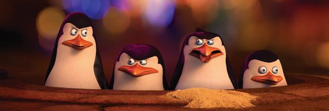 'Los pingüinos de Madagascar'