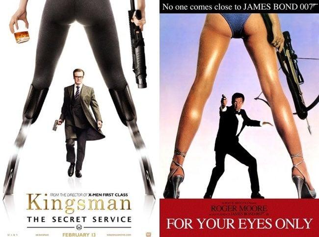 Colin Firth protagoniza uno de los nuevos pósters de 'Kingsman: Servicio Secreto'