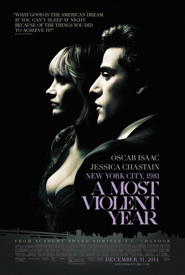 Oscar Isaac y Jessica Chastain protagonizan el nuevo póster de 'A Most Violent Year'