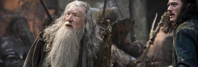 Ian McKellen interpreta de nuevo a Gandalf en 'El Hobbit: La batalla de los cinco ejércitos'