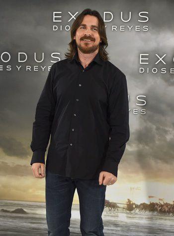 Christian Bale en Madrid