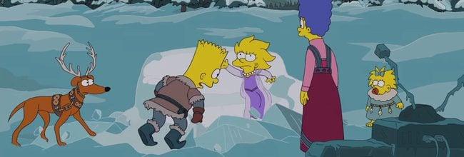 Simpsons Frozen