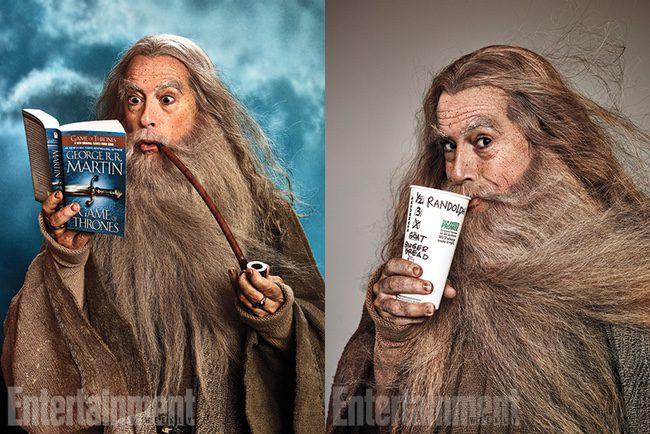 Stephen Colbert como Gandalf