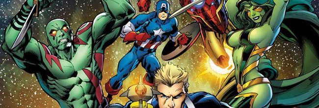 Los Vengadores - Guardianes de la Galaxia