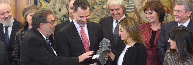 Los Reyes reciben un Goya especial