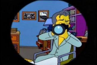 Veinticinco momentos de cine en 'Los Simpson'