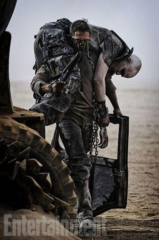 Tom Hardy protagoniza la nueva imagen de 'Mad Max: Fury Road'
