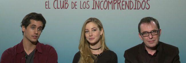 Àlex Maruny, Charlotte Vega y Carlos Sedes de 'El club de los incomprendidos'