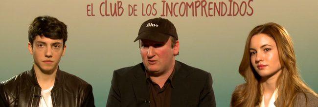 Jorge Clemente, Ivana Baquero y Blue Jeans de 'El club de los incomprendidos'