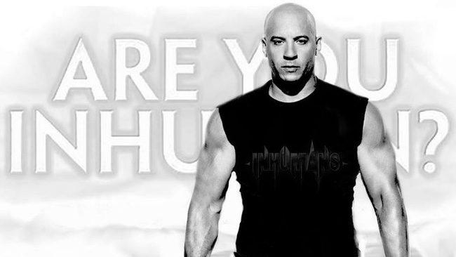 Vin Diesel muestra su interés por participar en 'Inhumanos'