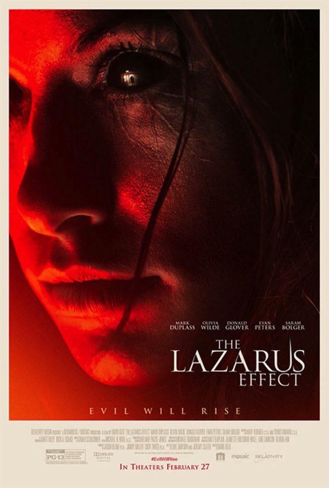 Primer póster de 'The Lazarus Effect'