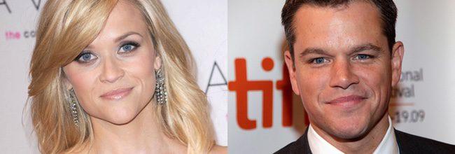 Reese Witherspoon y Matt Damon