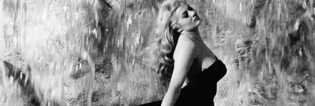 Anita Ekberg en 'La dolce vita'