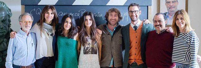 Los alumnos y el profesor del nuevo spot de los Premios Goya